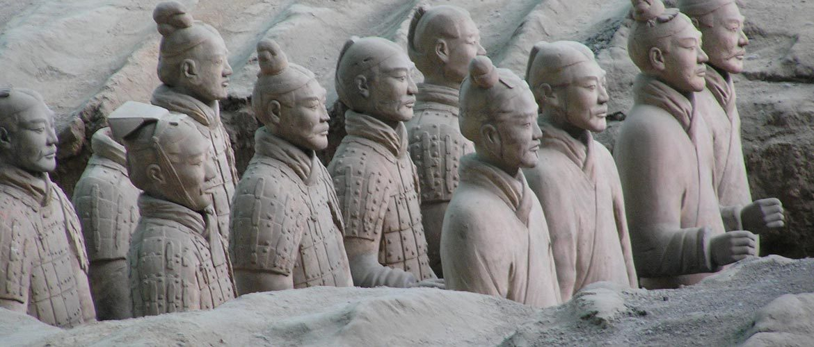 Terracotta Warriors - Group of soldiers